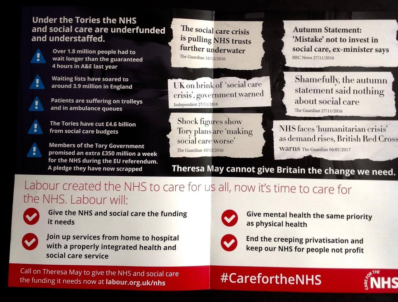 Care for the NHS